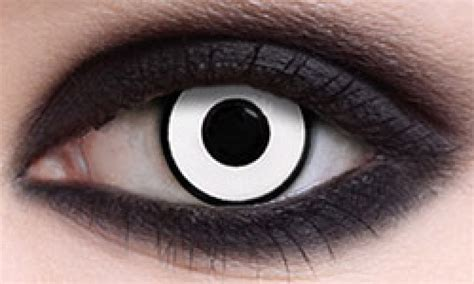 manson white crazy halloween contacts pair hc12 19 99 halloween colored contacts