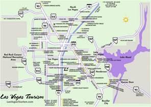 Map Of Las Vegas Area las vegas area map