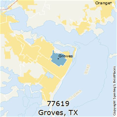 groves texas map best places to live in groves zip 77619 texas