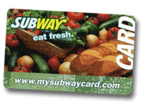 Subway Gift Card Amount - the good deal gal deals coupons freebies and more