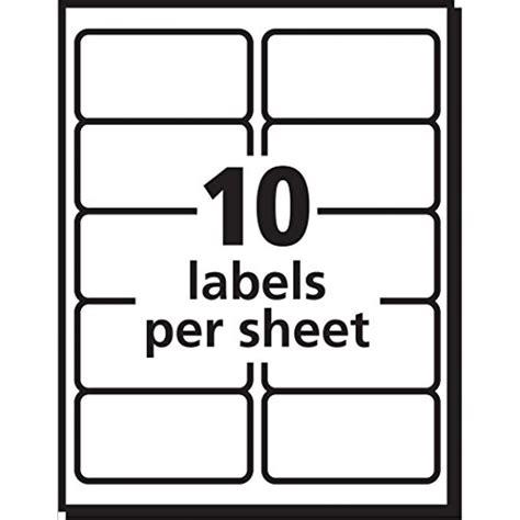 Avery Shipping Address Labels Inkjet Printers 250 Labels 2x4 Labels Permanent Adhesive Avery 2x4 Label Template