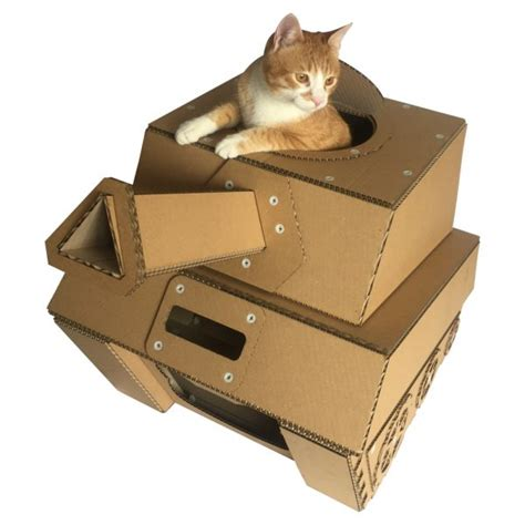 cardboard cat house tank cardboard cat house military spirit awakens in your kitty