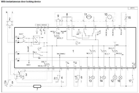 rex electrolux washing machine wiring diagram service