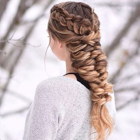 Elsa Hairstyle by Thick Elsa Braid Hairstyles Hairstyles Haircuts For