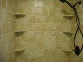 Pretty ceramic shower shelf designs ideas decofurnish