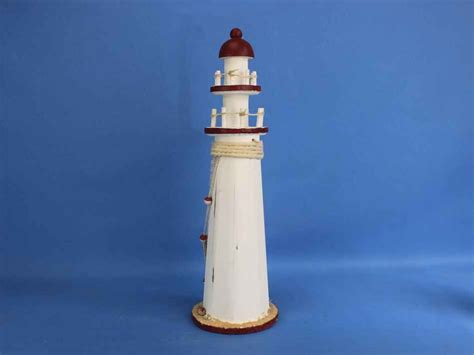 Cheap Lighthouse Decor by Wholesale Wooden Rustic Bay Harbor Decorative Lighthouse