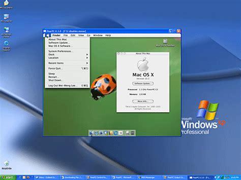 how to run windows on mac os 10 run mac os x on a pc o reilly media