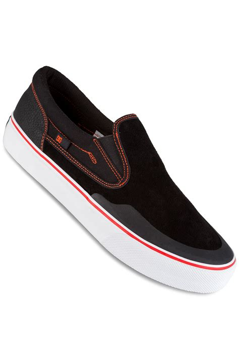 Kaos Dc Shoes Original 74 dc x baker trase slip on s rt shoes black white buy at skatedeluxe