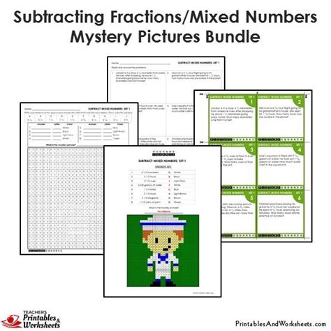 items similar to robot color worksheet printable on etsy 4th grade subtracting similar fractions mystery pictures