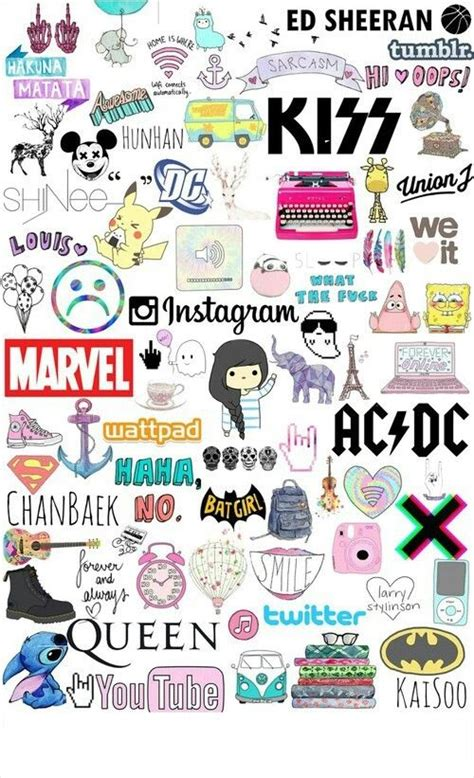girly teenage wallpaper tumblr collage teenage girl gifts room haircuts