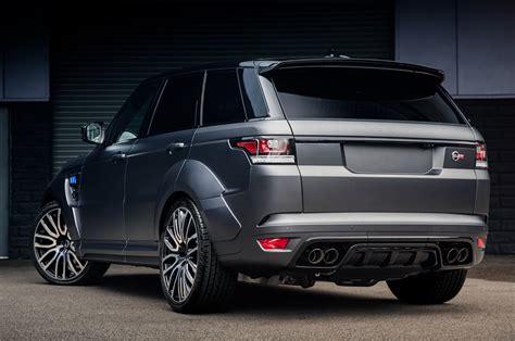 project kahn range rover sport svr pace car revealed autocar