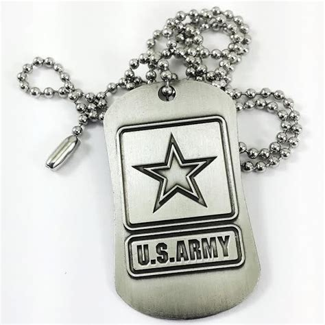us army tags u s army inspirational tag necklace