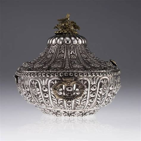 ottoman empire 19th century 19th century ottoman empire silver massive jewellery box