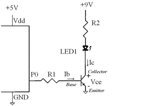 pn2222 base resistor driving high power loads with transistors