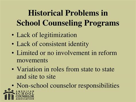 issues in school counseling ppt school counselors partners in student achievement