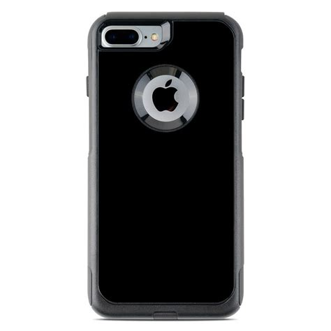 otterbox commuter iphone 7 plus skin solid state black by solid colors decalgirl
