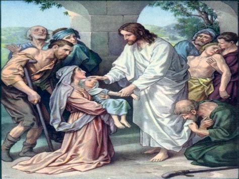 Imagenes De Jesucristo Sanando | cuadros de jes 250 s sanando a muchos obrerofiel