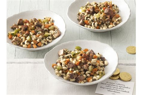 new year lunch recipe black eyed pea salad crafts