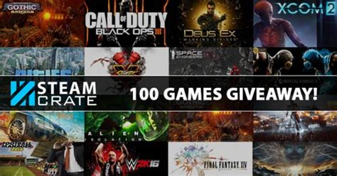 Steam Game Giveaways - steam crate giveaway 100 random steam games tgg