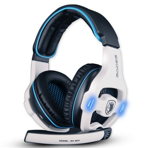 Headset Sades Sa 903 sades sa 903 7 1 surround sound usb headphones pro gaming headset for pc gamer headphone with