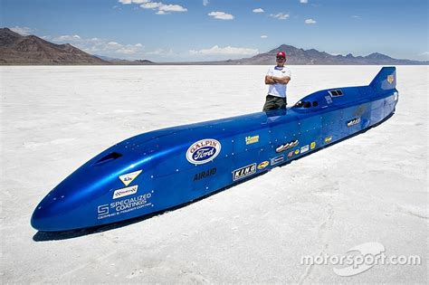 land speed record danny thompson aims for land speed record