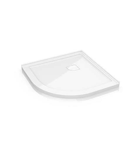 Low Profile Shower Base by Fleurco Alr Low Profile Acrylic Shower Base With Concealed Corner Drain