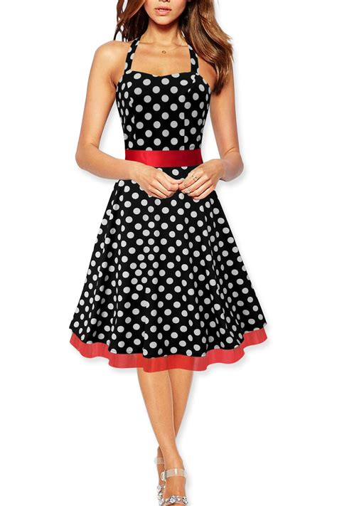 swing kleider vintage rhya vintage polka dot rockabilly 1950 s swing pin up