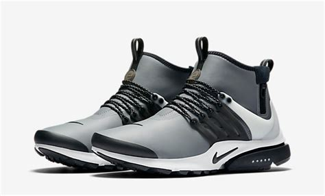 Nike Presto Utility Mid Grey nike air presto mid utility cool grey the sole supplier