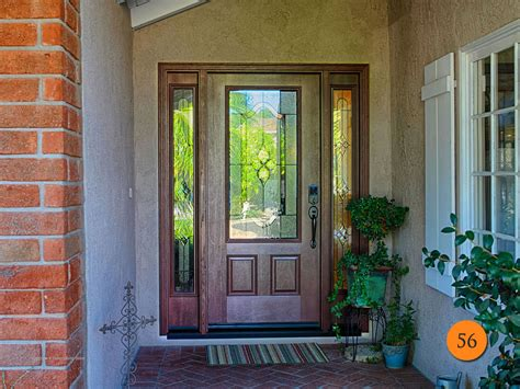 fiberglass entry door with glass therma tru entry doors fiberglass todays entry doors