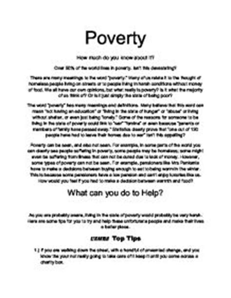 Lack Of Education Causes Poverty Essay by Essay On Poverty In India