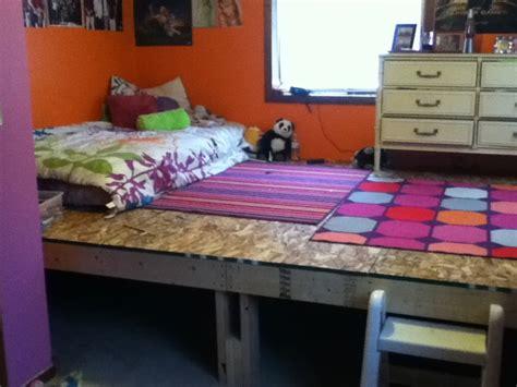 teddy duncan bedroom teen girl loft idea would allow plenty of storage space