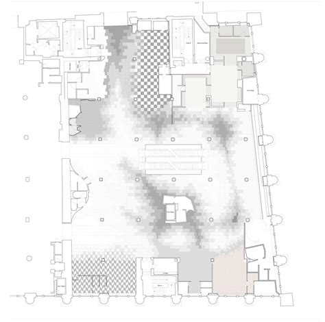 Selfridges London Floor Plan | marble floor jamie fobert architects