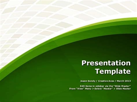 presentation template free download