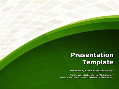 Presentation Template (Free Download)