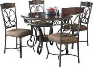 ashley furniture kitchen table set ashley glambrey 5 piece dining set homemakers furniture