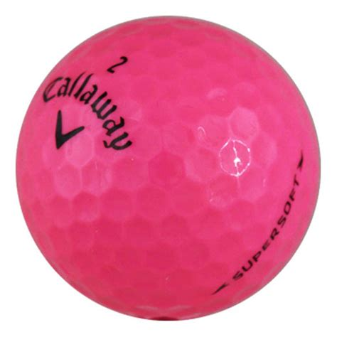 Golf Callaway Supersoft callaway supersoft pink used golf balls