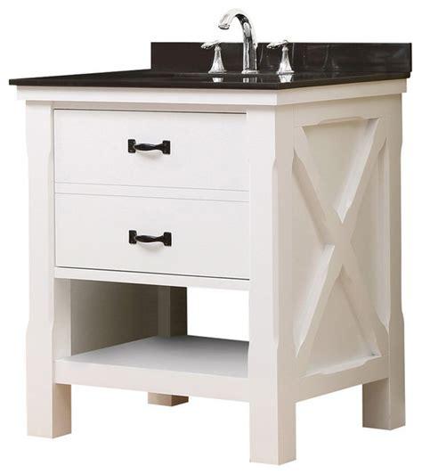 granite vanity tops without sink xtraordinary spa 32 quot white vanity black granite top