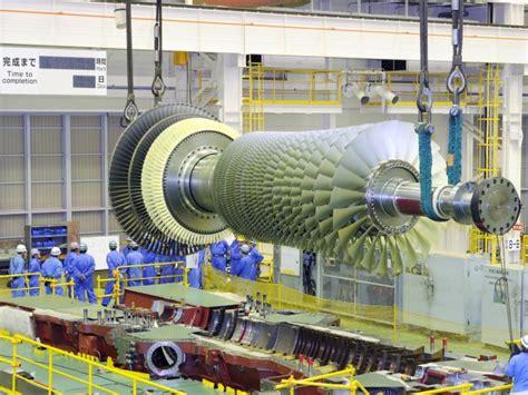 mitsubishi stack mitsubishi m701f gas turbine rotor de stack and reassembly