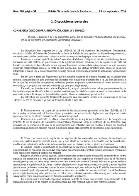decreto ley 7 2014 de 23 de diciembre por el que se decreto 123 2014 de 2 de septiembre por el que se