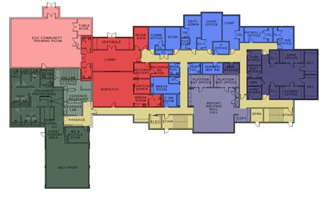 police station floor plan future building town of smyrna police department