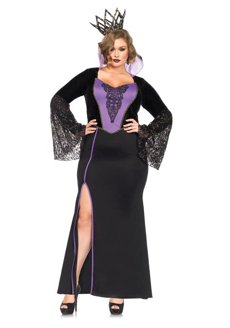 halloween costumes plus size evil queen costume