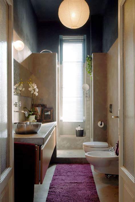 idee per bagno stretto e lungo 15 idee di design per arredare un bagno stretto e lungo