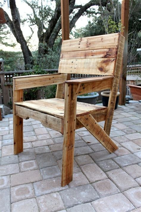 chaise en palette le fauteuil en palette est le favori incontest 233 pour la