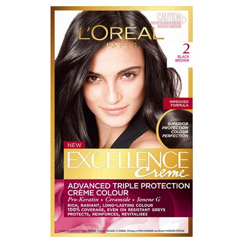 loreal excellence black no 1 buy excellence cr 232 me 2 black brown 1 pack by l oreal