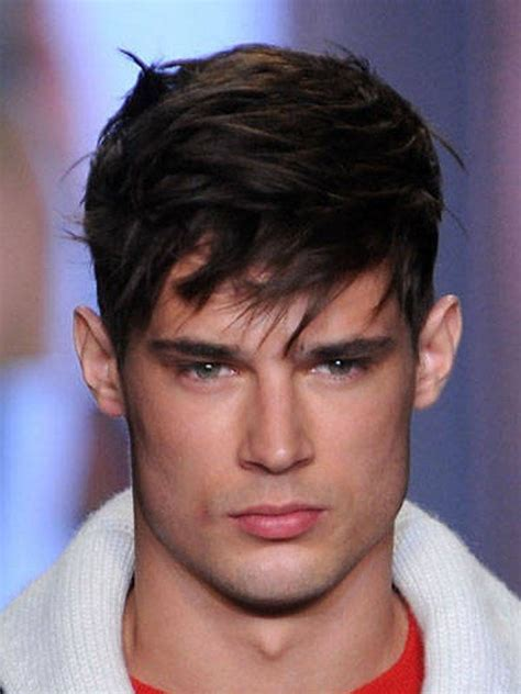 short hairstyles long in front for men this is a short hairstyle for men looks cool the two
