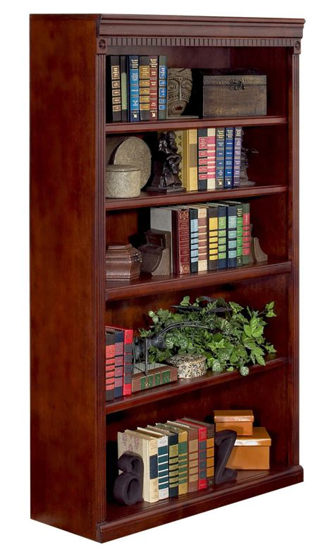 huntington cherry bookcase collection 48 quot high cherry