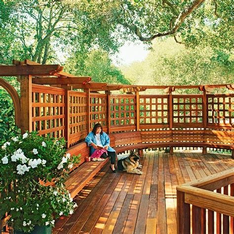 backyard privacy solutions privacy solutions for your deck decks trellis and benches
