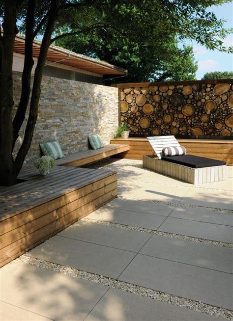 terrasse 50 oder 25 die 25 besten ideen zu steinplatten auf