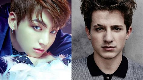 charlie puth korea bts s jungkook shares preview of cover song receives