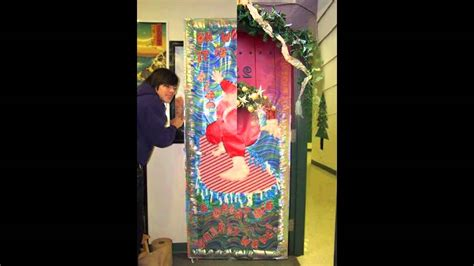 themes for photo competitions simple christmas door decorating contest ideas youtube